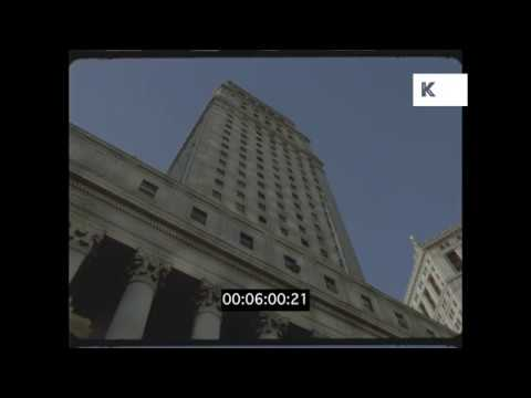 US Courthouse, Manhattan Municipal Building, 90s New York, HD