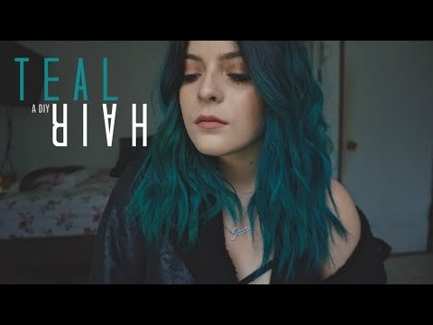 Manic Panic Voodoo Blue   A Vlog: Dying My Hair Blue/Teal + My Hair Color Story