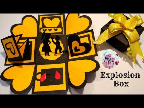 Marriage Anniversary Special Explosion Box | Anniversary Gift idea | Explosion Box Tutorial