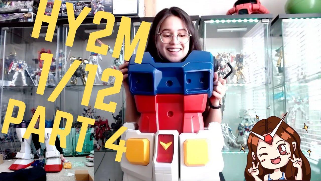 HY2M 1/12 RX 78-2 Gundam Live Build Part 4