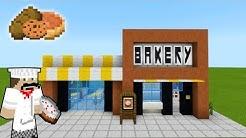 "Minecraft Tutorial: How To Make A Modern Bakery ""2019 City Tutorial"""