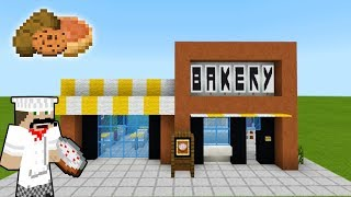 Minecraft Tutorial: How To Make A Modern Bakery 2019 City Tutorial YouTube