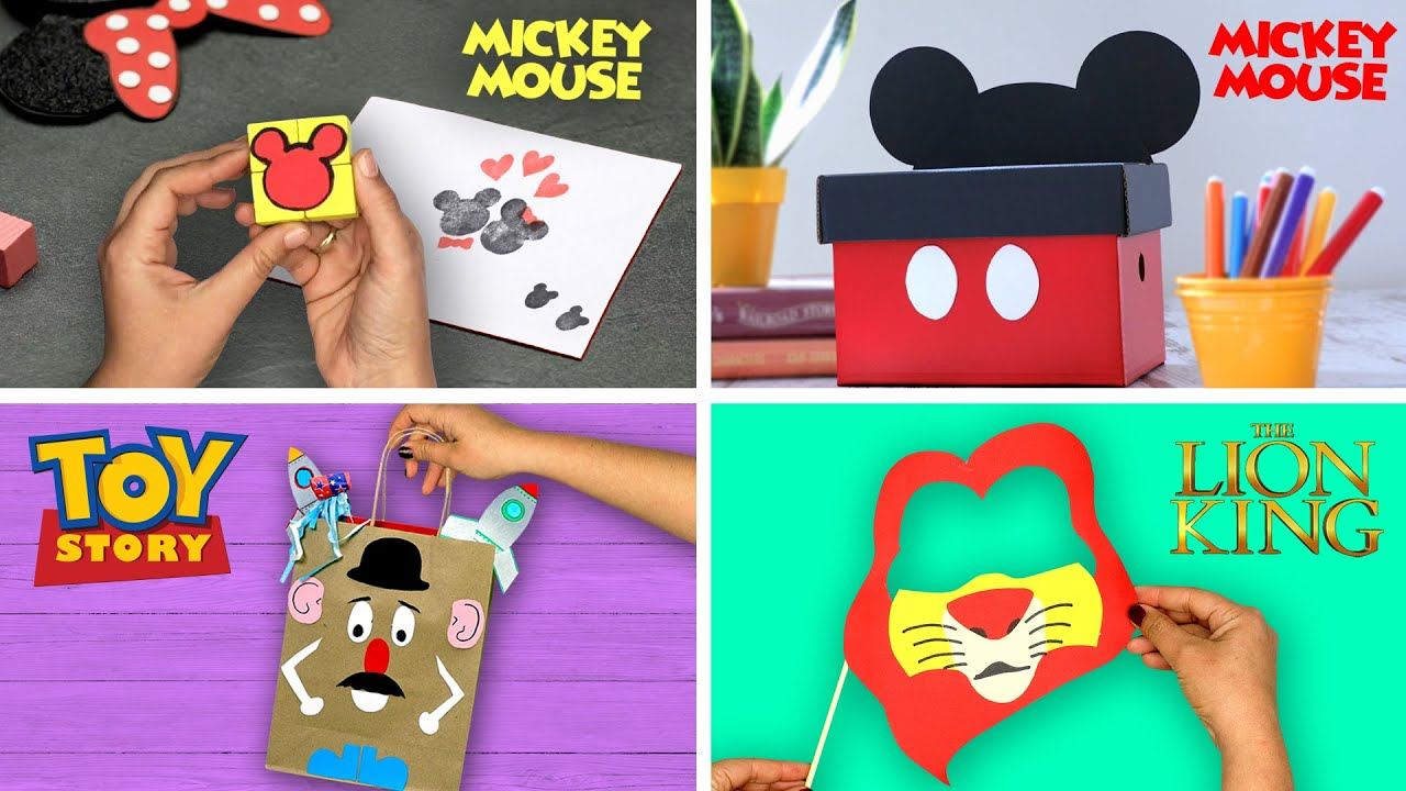 4 Remarkable Disney Crafts   DIY Labs