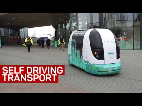 Self-driving transport is coming to cities. Here's how it works