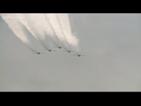 Blue Angels to flyover Jacksonville, Miami on Friday