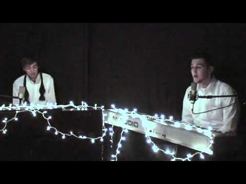 Two Guys Sing and Play Hallelujah on Piano  This Version Will Give You Chills!
