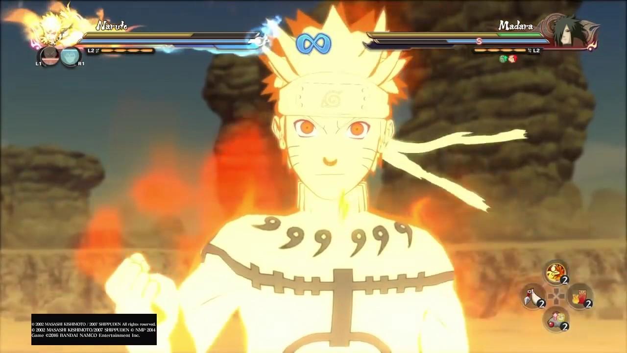 Naruto Shippuden Ultimate Ninja Storm 4 - Naruto, Gaara ...