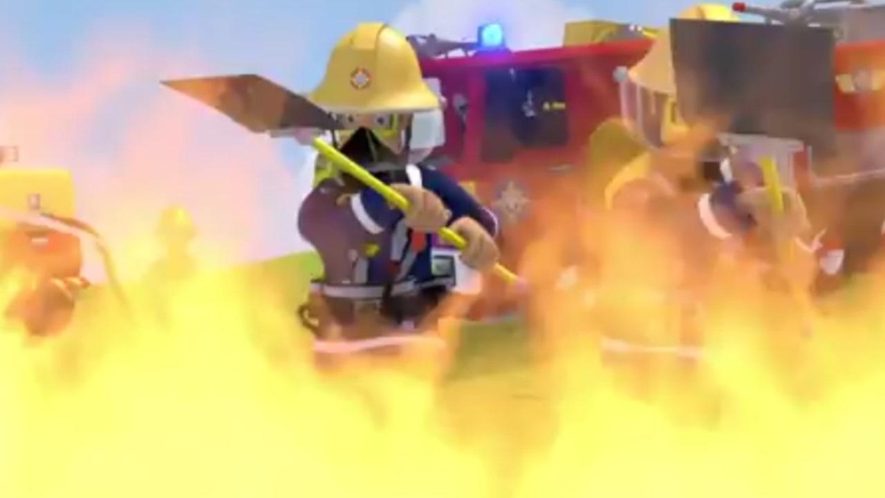 Sam le pompier version francaise dessin anim le renard - Dessin anime sam sam ...
