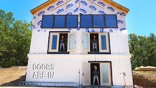 ICF Mountain Homestead: Installing Doors
