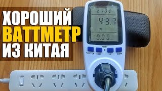 ВАТТМЕТР ИЗ КИТАЯ / бытовой цифровой прибор ваттметр для майнинга / Инструкция / измеряю мощность
