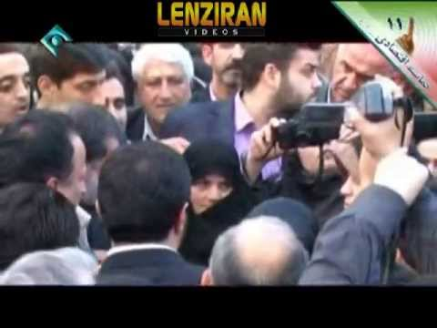 Mosen Rezaei attack and criticize Ahmadinejad administration in his  promotion video