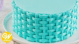 How to pipe buttercream ruffles