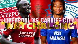 LIVERPOOL VS CARDIFF CITY WATCHALONG #LFC FAN REACTIONS PREMIER LEAGUE