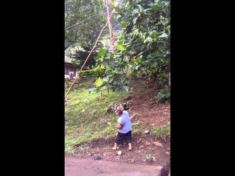 Vacation in samoa