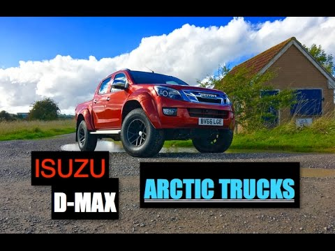 Isuzu D Max Arctic Trucks AT35 Review   Inside Lane