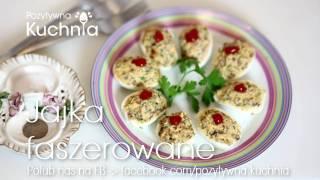 Jajka faszerowane | Dorota Kamińska