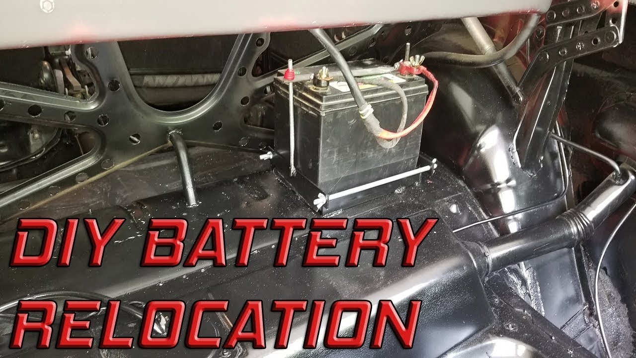 Volvo 240 Drift Build Ep 4 Battery Relocation