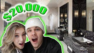$20,000 A NIGHT HOTEL ROOM! *vacation*
