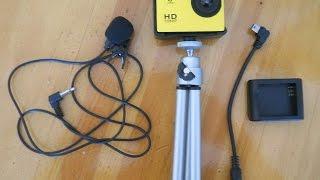 Нужные вещи для экшн камеры SJ4000 с Aliexpress