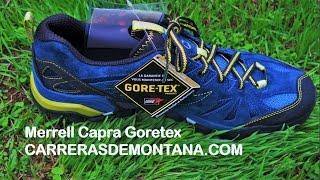 Merrell Capra Goretex zapatillas montaña  Análisis por Mayayo @moxigeno