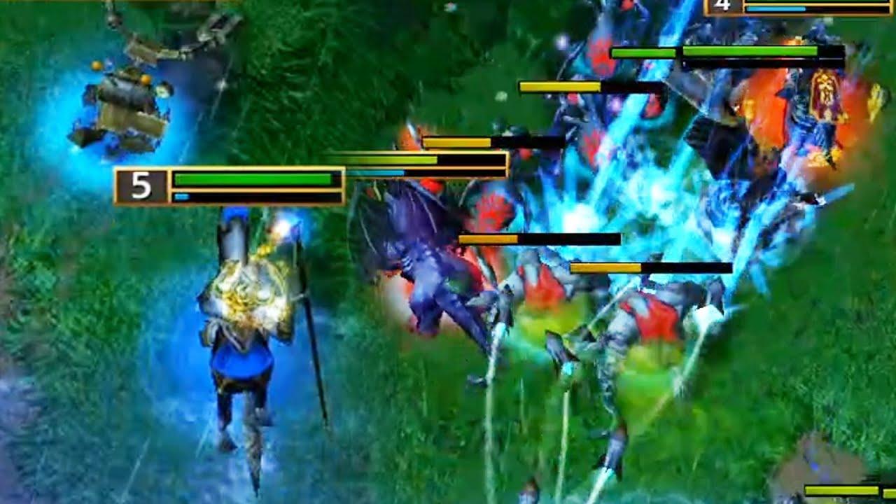 언데드 다 녹여버리는 블리자드&로켓!! - Sok 워크3 휴먼 래더 (Warcraft3 Human Ladder)