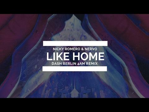 Nicky Romero & NERVO - Like Home (Dash Berlin 4AM Remix) [Live @ ASOT 600]