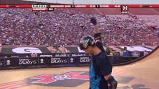 X Games - Bob Burnquist nails a switch backside 540 to an indy 540 - Silver Medal - X Games 16