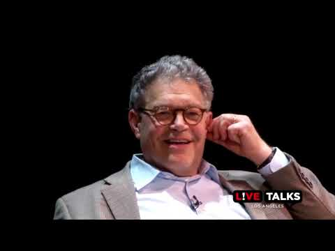 Sen. Al Franken on Sen. Ted Cruz from a talk with Franken and Chelsea Handler at Live Talks LA