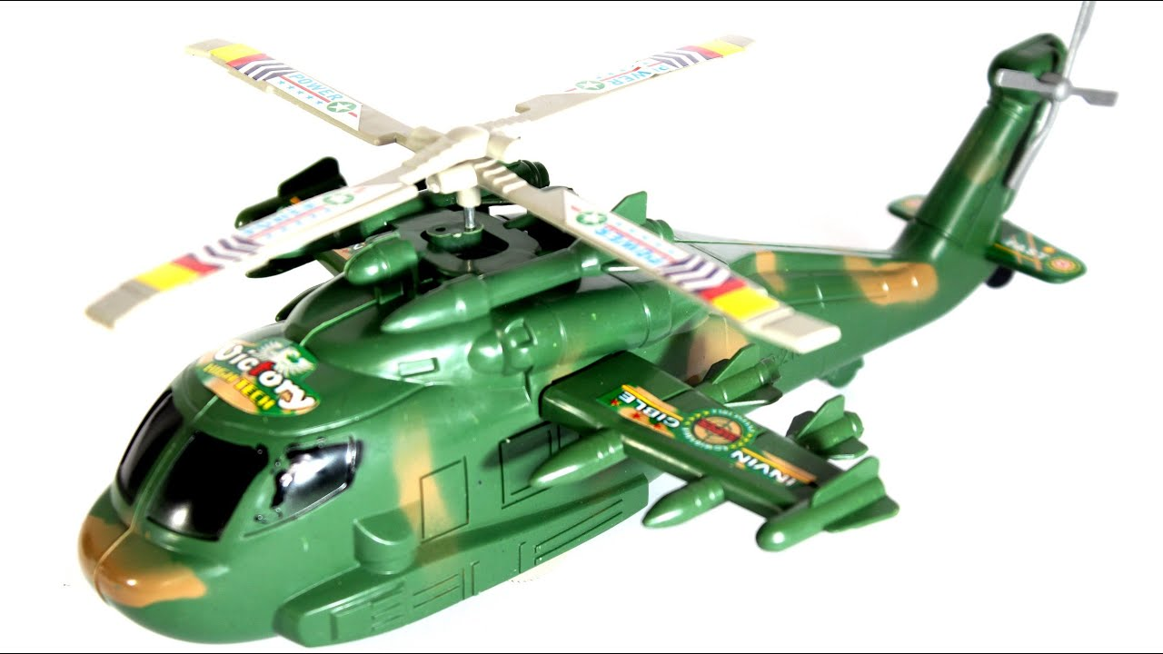 Amazing Helicopter for kids Green Helicopter toy for Children