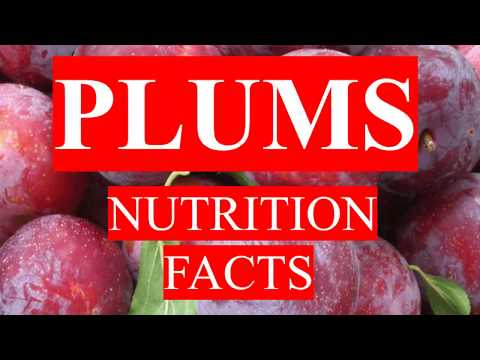 PLUMS FRUIT HEALTH BENEFITS AND NUTRITION FACTS