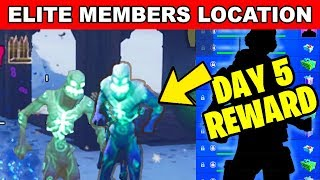 DESTROY ELITE MEMBERS OF THE ICE LEGION LOCATION - ICE STORM CHALLENGES FREE REWARDS IN FORTNITE