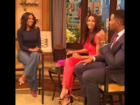 Ciara - Co Host Live with Kelly and Michael 10/13/15