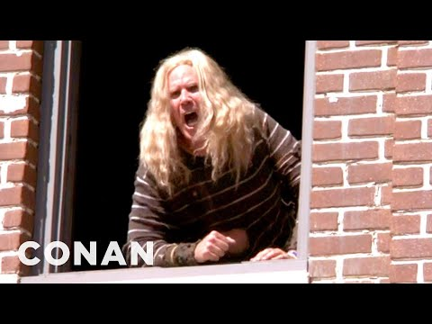 Will Ferrell's Brother Terrorizes The Warner Brothers Lot - CONAN on TBS