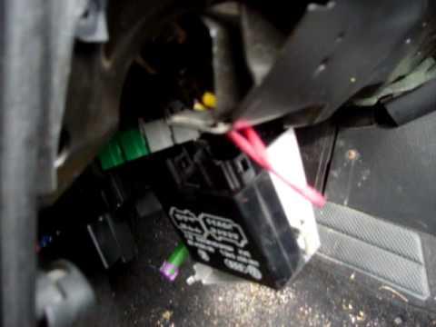 2007 Volkswagen Beetle Fuse Box Volkswagen Alarm Fix 2 Youtube