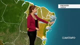 Previsão Nordeste - Chuva forte em Maceió e Recife