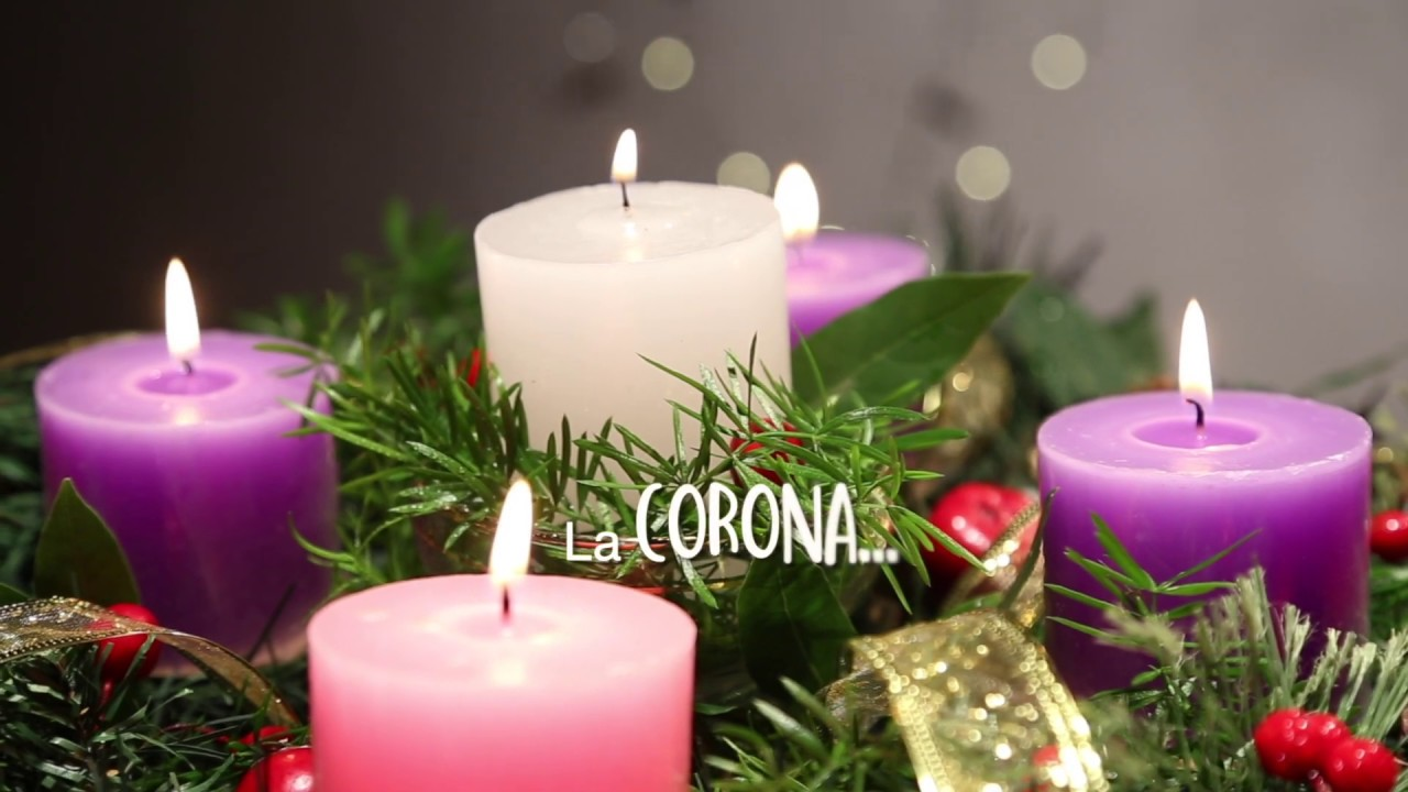 Corona De Adviento 2018 Colores Youtube