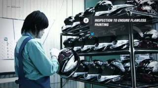 SHOEI Helmet Production