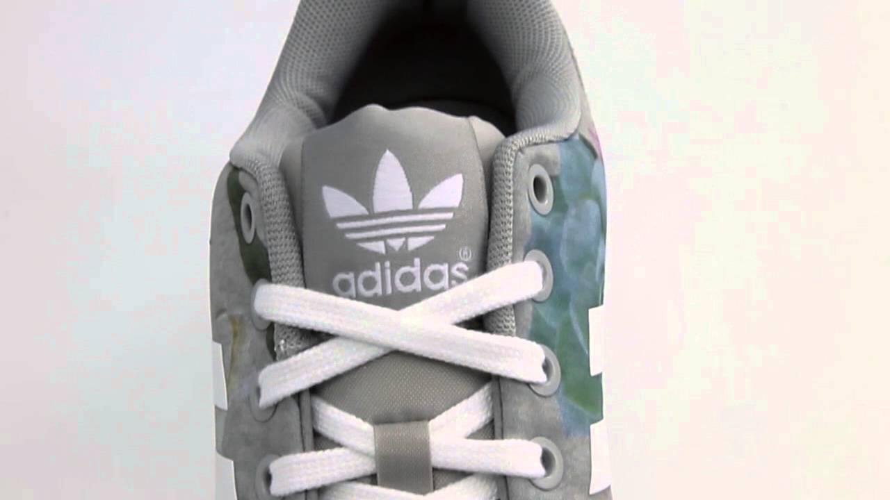 adidas zx flux grijs