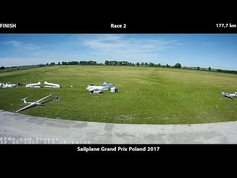 FAI Sailplane Grand Prix Poland 2017: Race 2