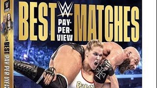 WWE Best PPV Matches Of 2018 DVD Cover Revealed