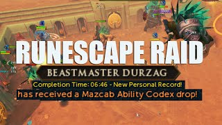 Runescape! RAID BOSS Kill - Beastmaster Durzag + Ability Drop!
