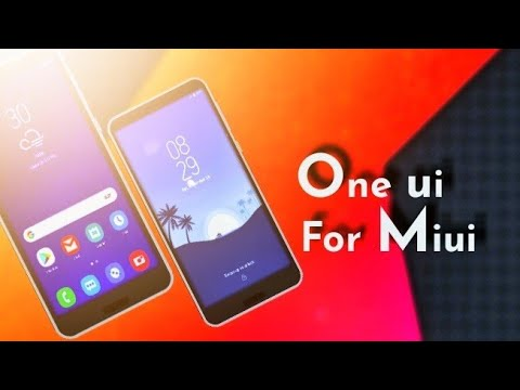 One ui Theme for Miui 9/8🔥🔥⚡