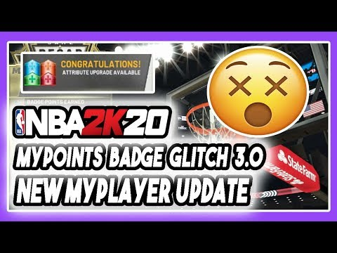 NBA 2K20 NEW FASTEST MAX BADGE + MYPOINTS GLITCH 3.0 STILL WORKING! PRELUDE UPDATE! DENSKI UPDATE!