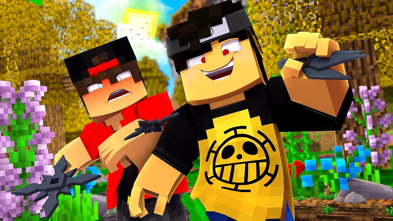 Minecraft: ARMAS NINJA - NARUTO C ‹‹ JHONy3 ›› - YouTube