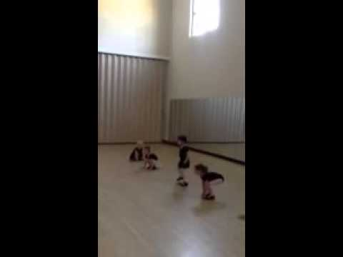 Tap dancing to Animal Crackers!