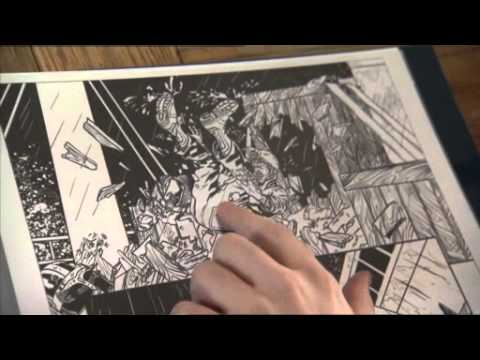 Working With Marvel Comics