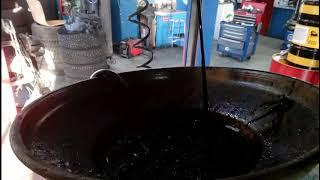видео Замена масла в двигателе Ford Mondeo