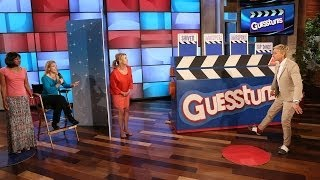 Ellen and Julia Roberts Play Guesstures