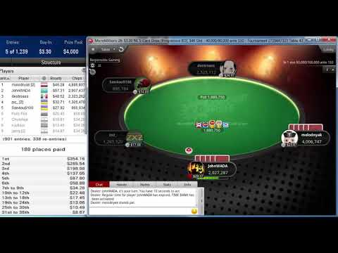 Download Final table PokerStars MicroMillions 26: $3.30 NL 5-Card Draw [Progressive KO], $4K Gtd Nov 12, 2019