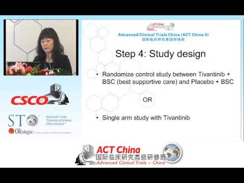 Phase II Clinical Trial Development for Tivatinib (ARQ 197) in GI Cancers  (中文)
